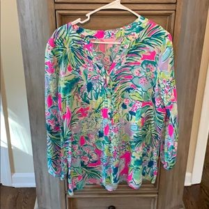 Lilly Pulitzer Harbour Island tunic s